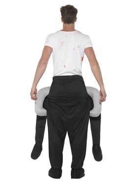 Adult Piggy Back Headless Costume - Side View