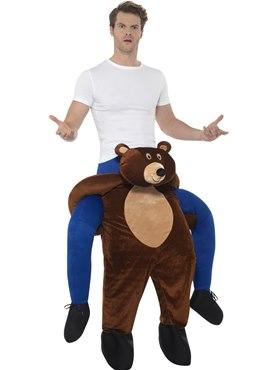 Adult Piggy Back Bear Costume