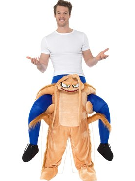 Adult Piggy Back Cockroach Costume Couples Costume