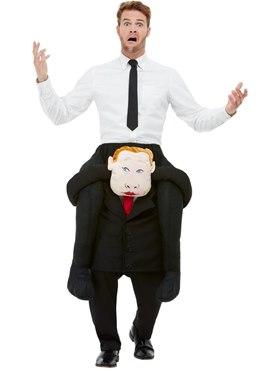 Adult Piggyback Comrade Costume