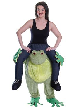 Adult Piggyback Frog Costume