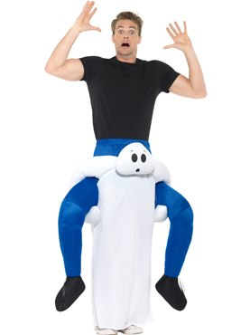 Adult Piggy Back Ghost Costume