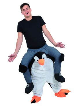 Adult Piggyback Penguin Costume