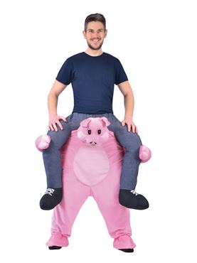 Adult Piggy Back Pig Costume