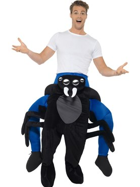 Adult Piggy Back Spider Costume  sc 1 st  Fancy Dress Ball & Adult Piggy Back Spider Costume - 48820 - Fancy Dress Ball