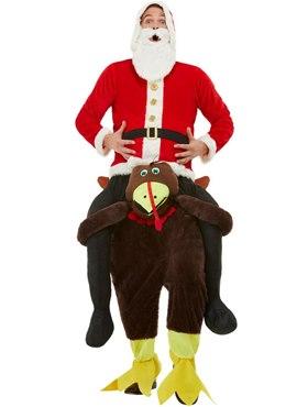 Adult Piggyback Turkey Costume