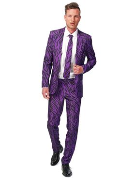 Adult Pimp Tiger Suitmeister Suit