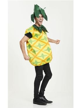 Adult Pineapple Costume - Back View