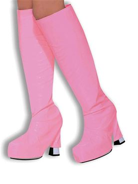 Adult Pink Gogo Boot Tops