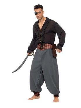 Adult Pirate Blouson Pants