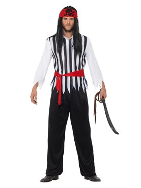 Adult Pirate Costume Couples Costume