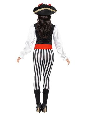 Adult Pirate Lady Costume - Side View