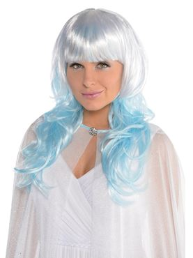 Adult Platinum Shimmer Wig