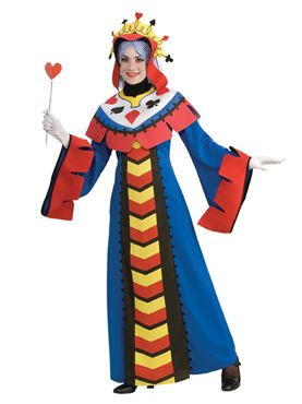 Adult Playing Card Queen Costume