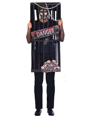 Adult Plus Size Caged Reaper Costume