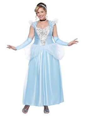 Adult Plus Size Classic Cinderella Costume  sc 1 st  Fancy Dress Ball & Adult Plus Size Classic Cinderella Costume - 01744 - Fancy Dress Ball