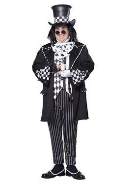 Adult Plus Size Dark Mad Hatter Costume