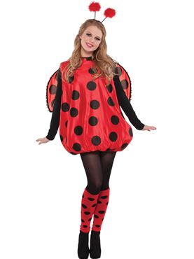 Adult Plus Size Darling Ladybird Costume