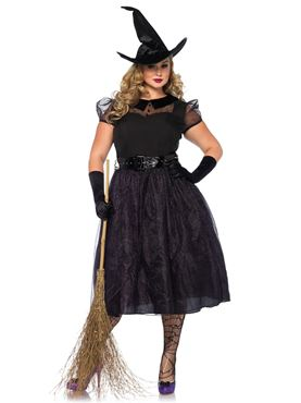 Adult Plus Size Darling Spellcaster Costume