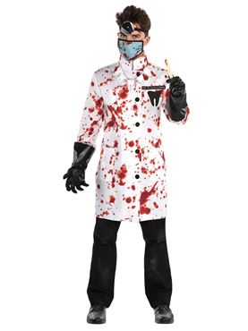 Adult Plus Size Demented Dentist Costume