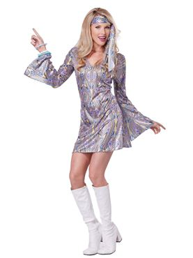 Adult Disco Sensation Costume