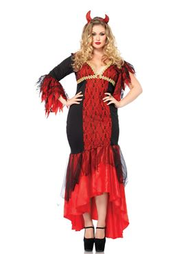 Adult Plus Size Diva Devil Costume Thumbnail