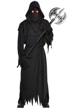 Adult Plus Size Glaring Reaper Costume