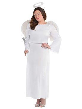 Adult Plus Size Heaven Sent Costume