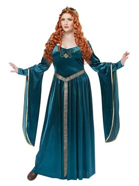 Adult Plus Size Lady Guinevere Costume Thumbnail