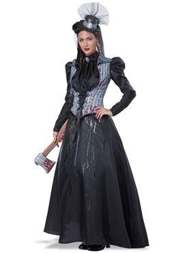 Adult Plus Size Lizzie Borden Axe Murderess Costume