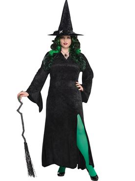 Adult Plus Size Long Witch Dress