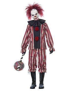 Adult Plus Size Nightmare Clown Costume