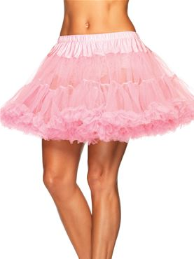 Adult Plus Size Petticoat - Back View