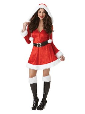Adult Plus Size Sassy Santa Costume