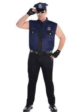 Adult Plus Size Under Arrest Costume