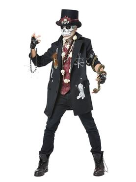 Adult Plus Size Voodoo Dude Costume
