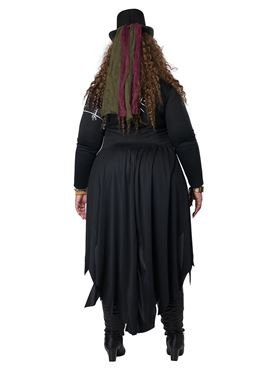 Adult Plus Size Voodoo Magic Costume - Side View