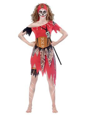 Adult Plus Size Witch Doctor Costume