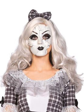 Adult Porcelain Doll Mask