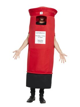 Adult Post Box Costume
