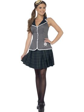 Adult Sexy Prefect Costume Thumbnail