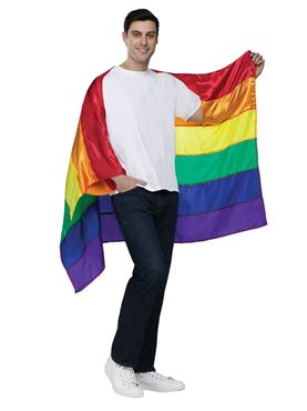 Adult Pride Flag Cape