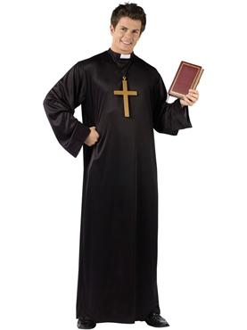 Adult Priest Costume