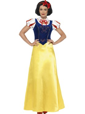 Adult Princess Snow Costume