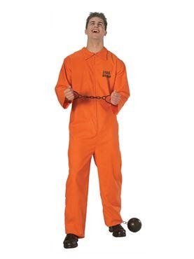Adult Prisoner Costume