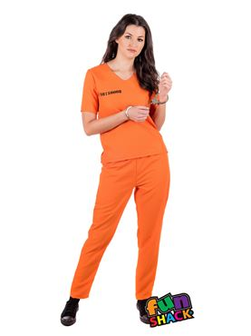 Adult Prisoner Lady Costume