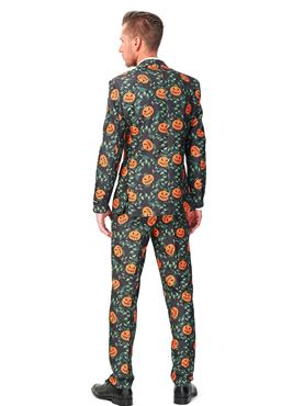 Adult Pumpkin Leaves Suitmeister Suit - Back View