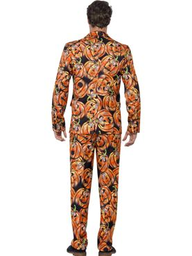 Adult Pumpkin Stand Out Suit - Side View