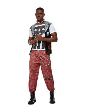 Adult Punk Rocker Costume