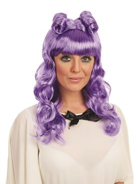 Adult Purple Cosplay Wig